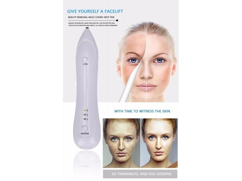 Лазерная ручка для удаления татуировок, папиллом, бородавок Beauty Star